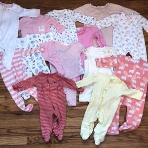 Other - Baby Girl Pajama Lot